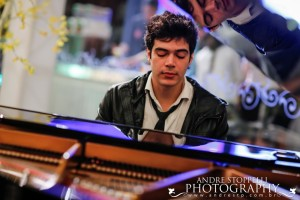 Pianista Rafael Maia. Foto: André Stoppelli