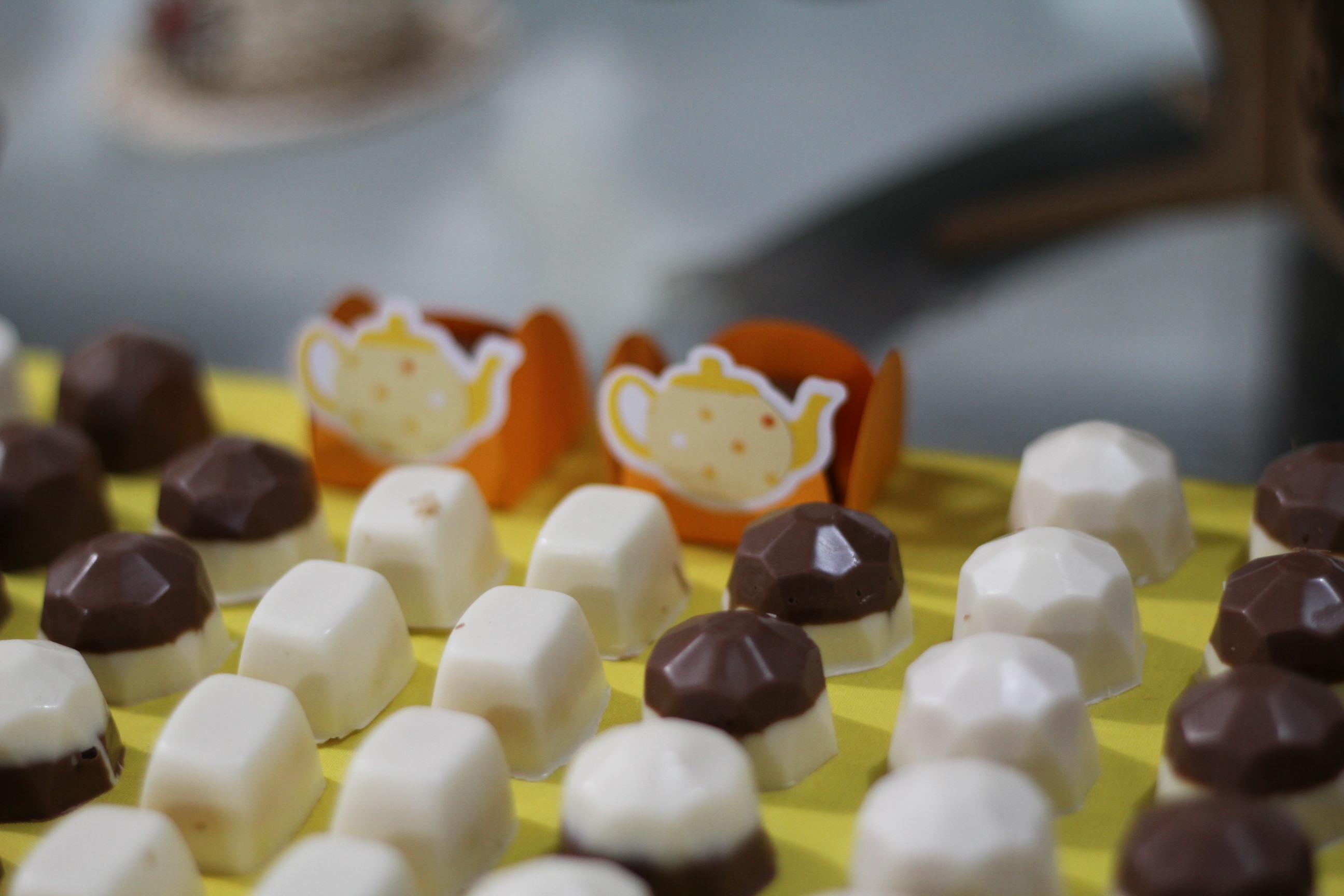 chocolates feitos por mainha