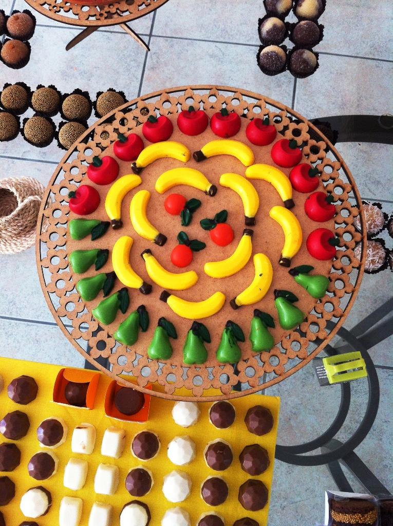 chocos feitos por mainha
